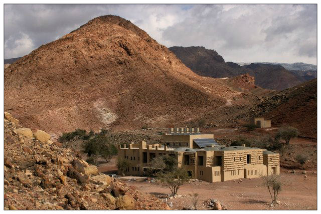 Die Feynan Eco-Lodge in Jordanien