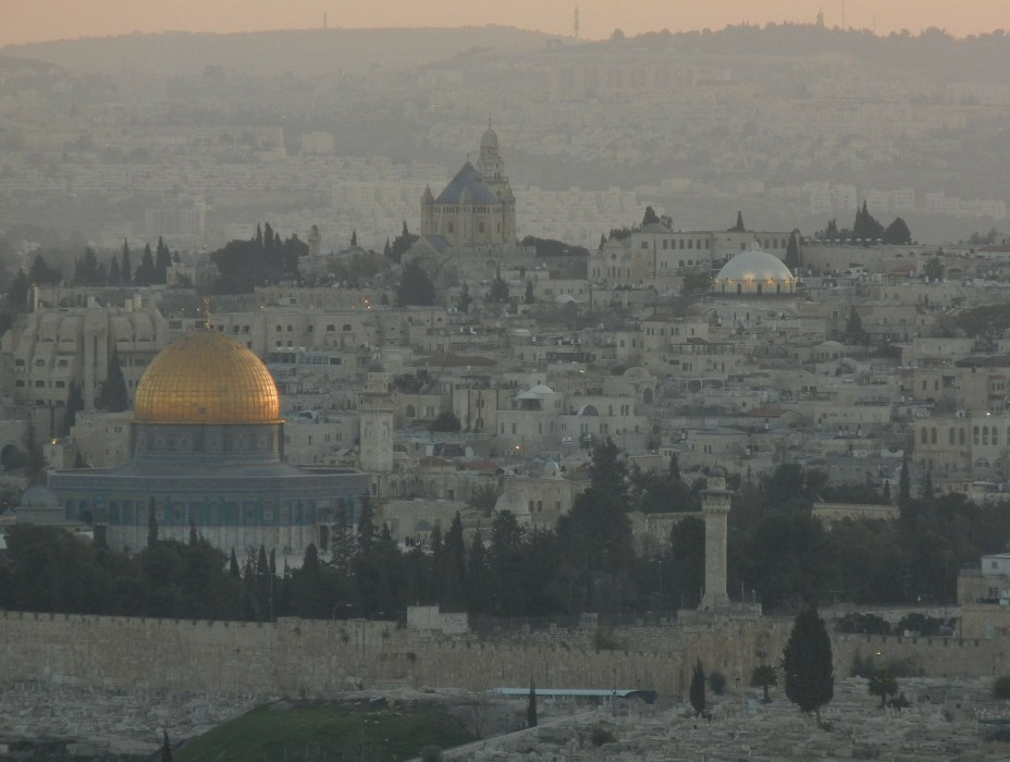 Jerusalem am Morgen