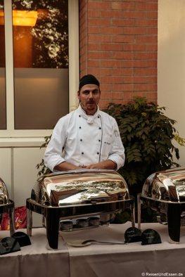Küchenchef Markus Nagel vom Radisson Blu in Karlsruhe