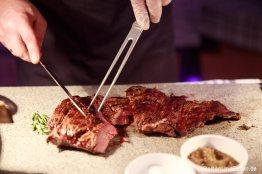 Zubereitung des Tomahawk Steak
