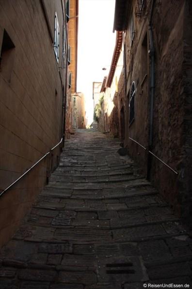 Gasse in Montalcino