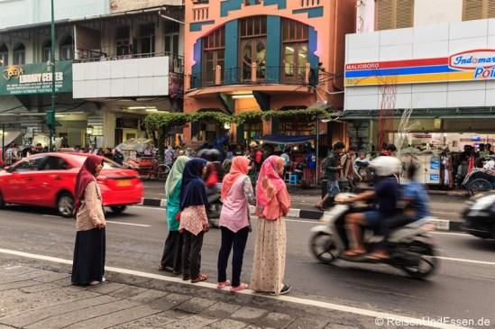 An der Malioboro Street
