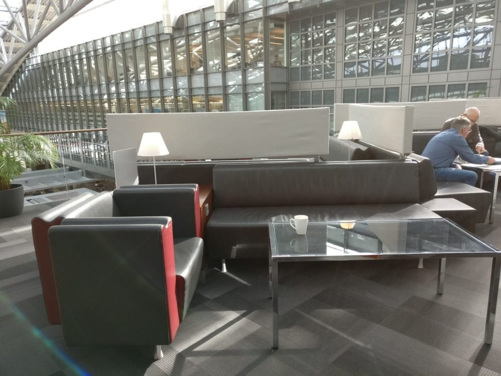 Lounge Sitze Review Hamburg Airport Lounge