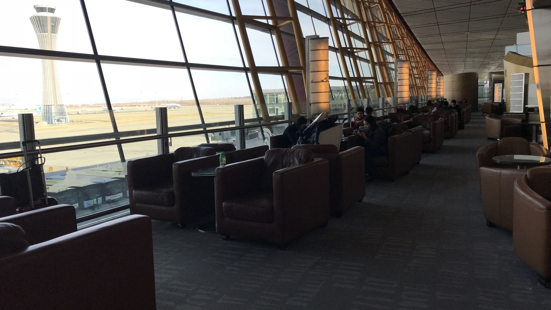 Air Lounge Sessel Review Air China Business Class Lounge Was Kann Man