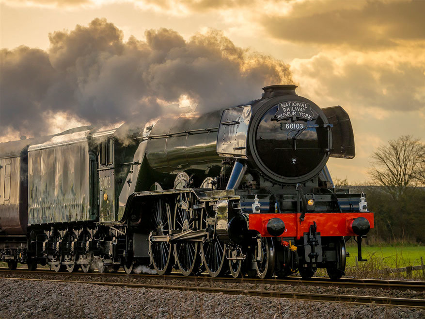 Treinreizen 2016: de Flying Scotsman