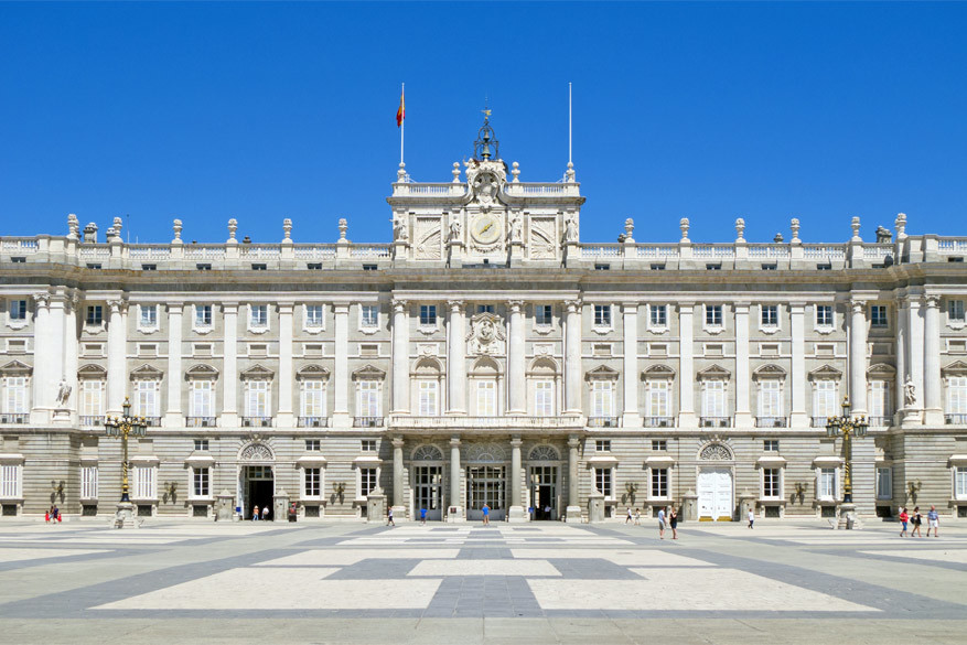 Het Palacio Real. © Wikimedia Commons