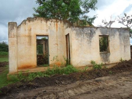 A colonial chief's office that was damaged in 2007/8 Post Election Violence.[Photo: Nyakwar Odawo]