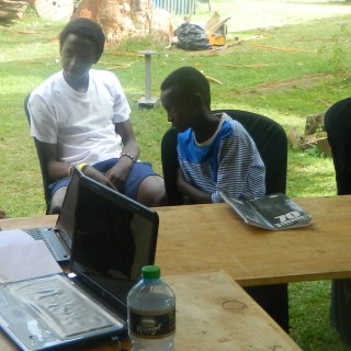 A cyber safety session in progress at Simba Safe and Missing Child Kenya. Picture Courtesy