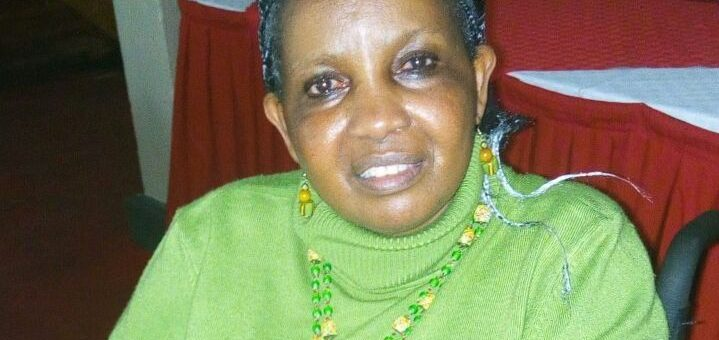 Lucia Ndolo has been living with Multiple Sclerosis for more than 40 years.She is however very jovial and does not allow the condition to dampen her spirit.Picture: Carolyne Oyugi