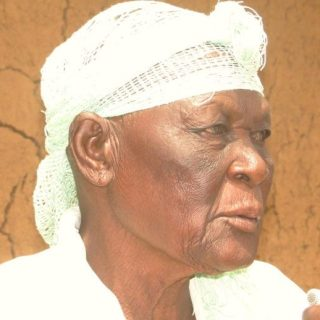 Dorsila Ajuoga, a widow involved in a prolonged 150-acres land tussle in Siaya County . Picture: Omondi Gwengi