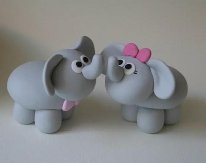kerajinan clay gajah