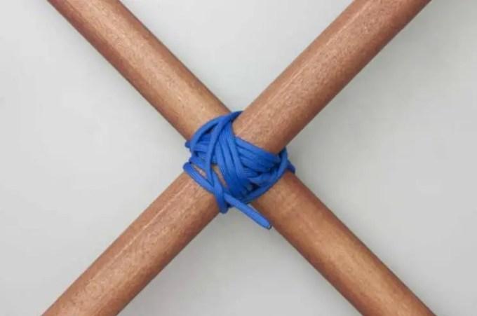 Tali-Temali-Diagonal-Lashing