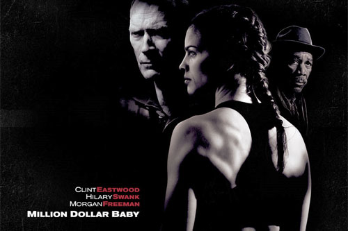 hilary swank million dollar baby training