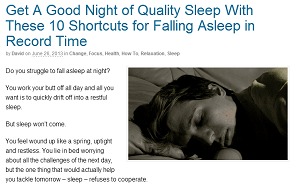 10 Shortcuts for Falling Asleep in Record Time