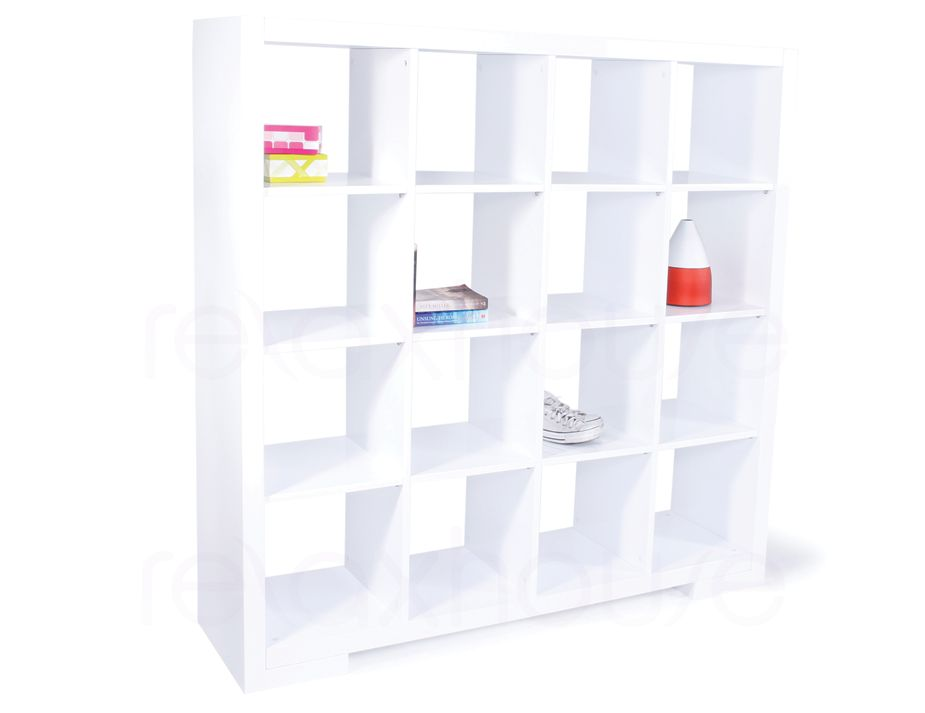 Kitchen Units For Sale Cube Bookcase 4x4 Bookshelf Storage Shelving Unit - Gloss