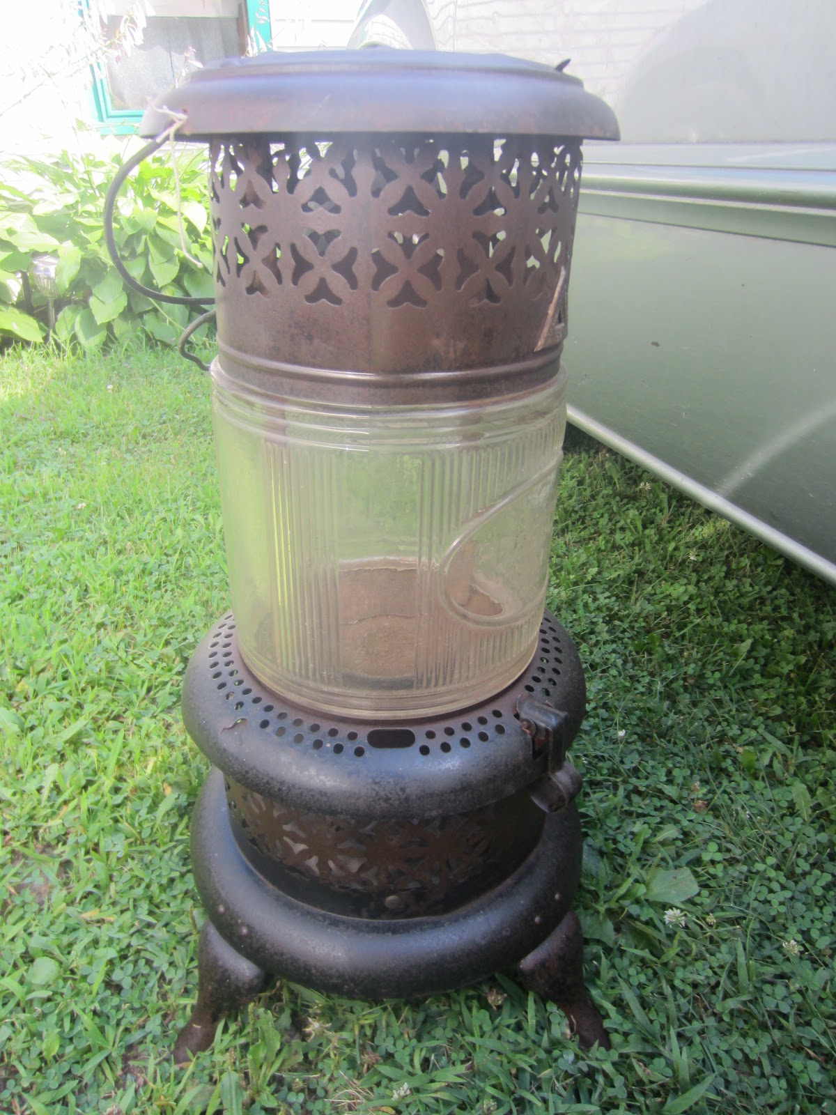 A Vintage Perfection Kerosene Heater Treehouse Building