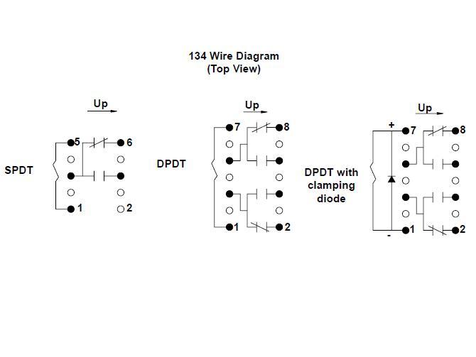 Item # 134MPCX-3-24VDC, 134 Series - Mercury Reed Relays On
