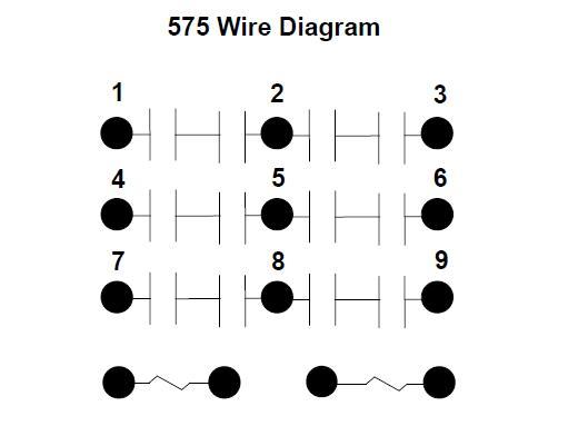Item # A575KXX90-120VAC, 575 Series - Motor Reversing Contactors On
