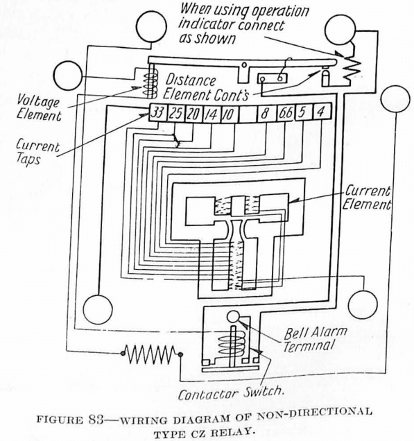 electrical directional relay