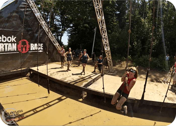 Boston Spartan Sprint Rope Swing