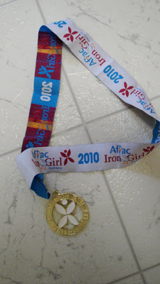 Iron Girl Columbia Medal