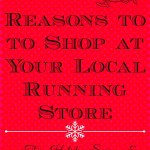Reasons to Shop at your Local running Store