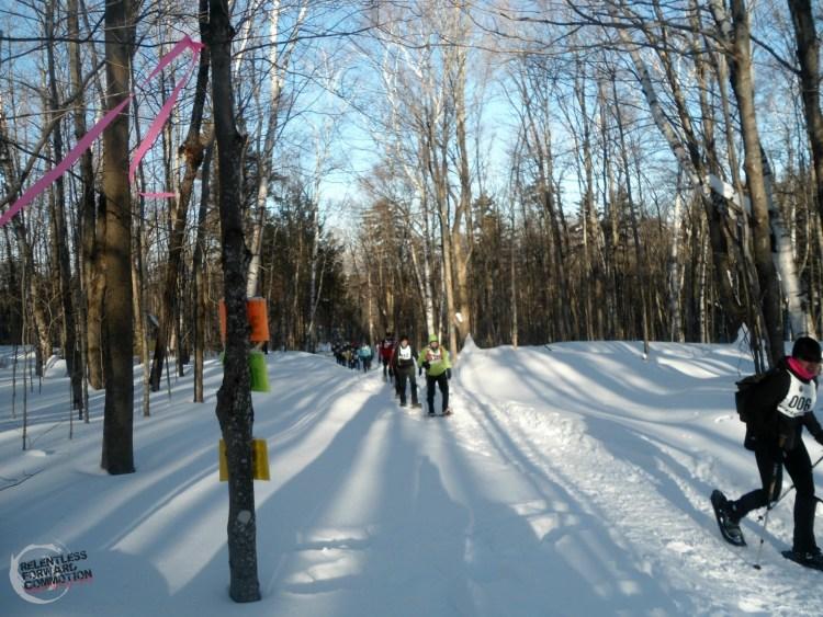 Frigus Snowshoe Race