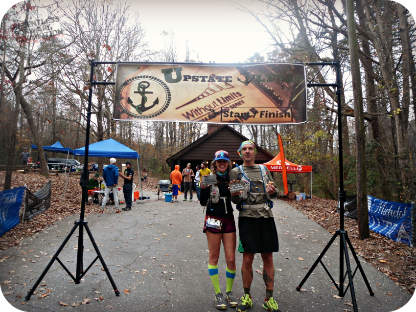 Paris Mountain 50K Finish