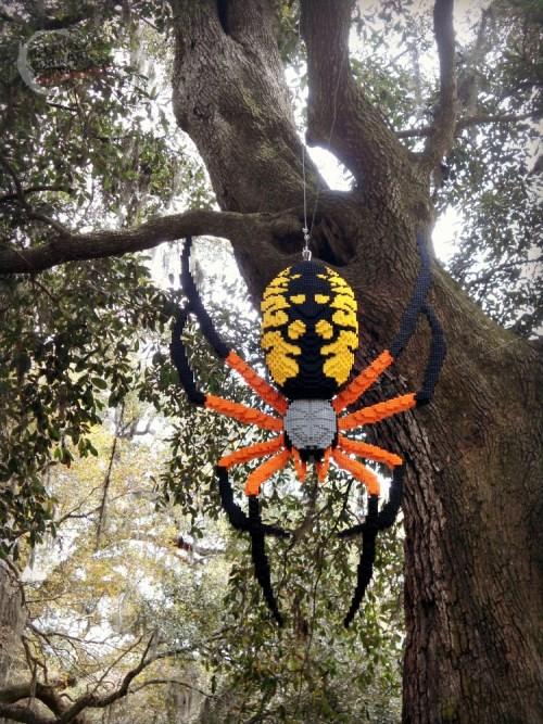Lego Spider Brookgreen Gardens