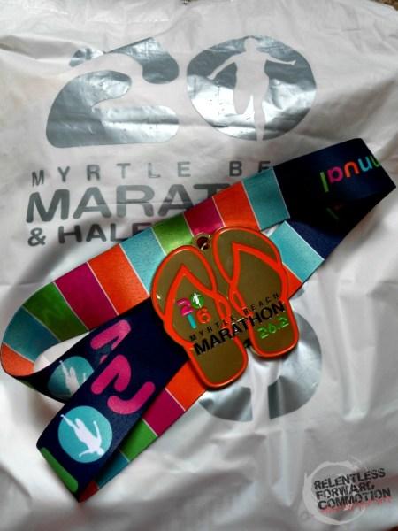 Myrtle Beach Marathon Medal
