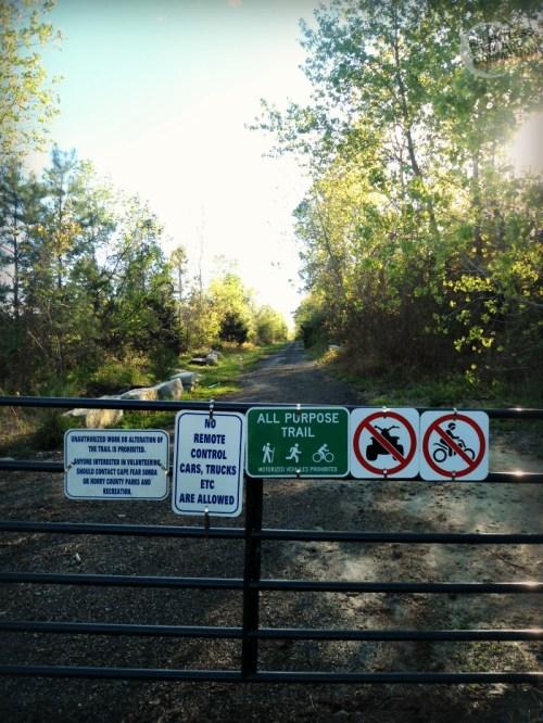 Trail Signs The Hulk