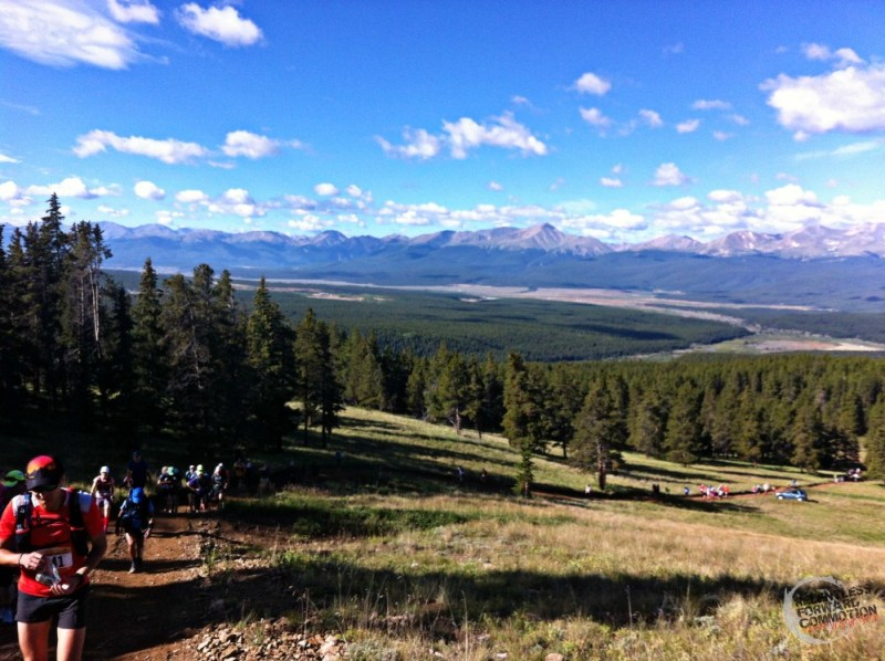 Leadville climb mountains