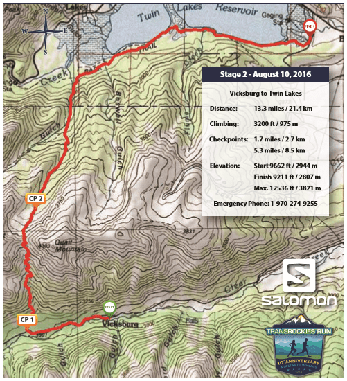 Stage 2 map