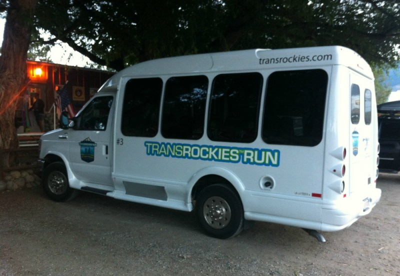TransRockies Run Shuttle