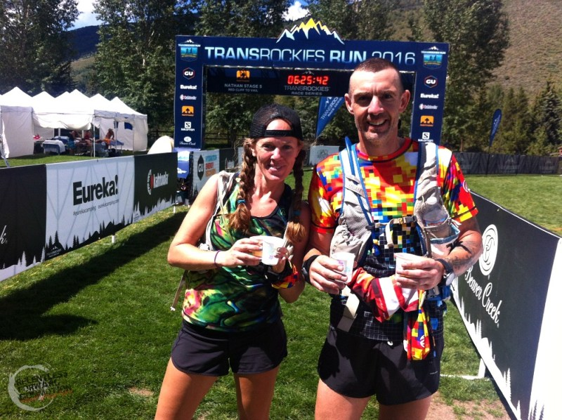 TransRockies Run Vail Finish Line