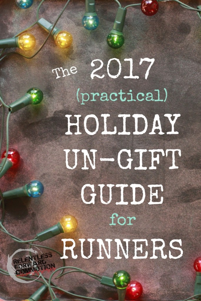 Practical gifts for runners