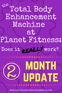 Total Body Enhancement at Planet Fitness-