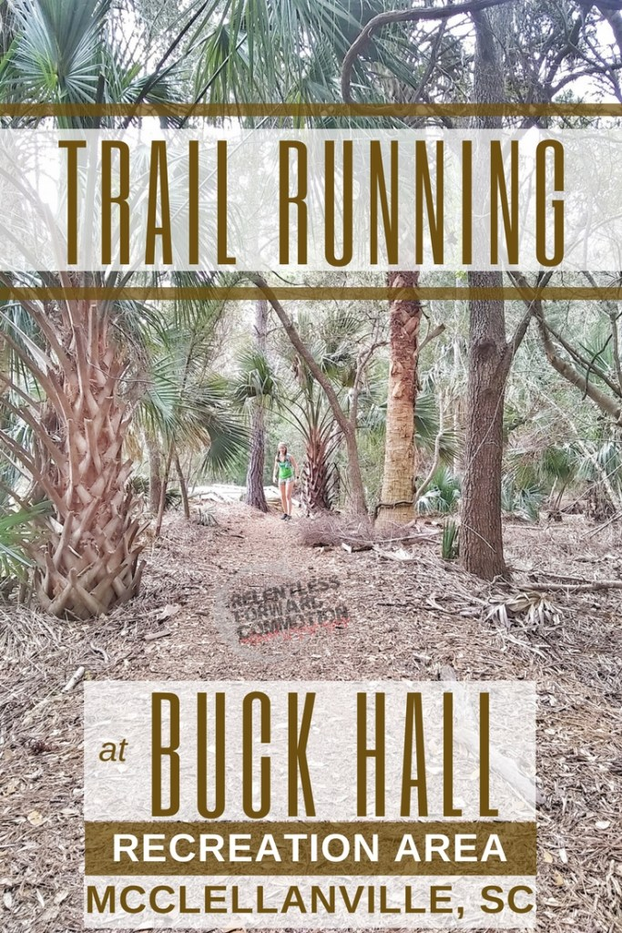 Trail Running at Buck Hall