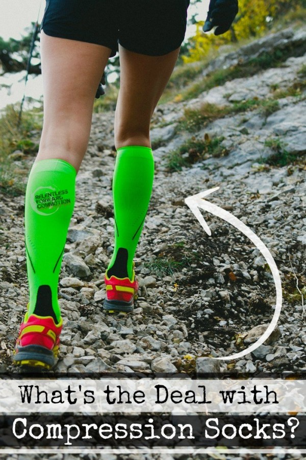 Compression socks and running