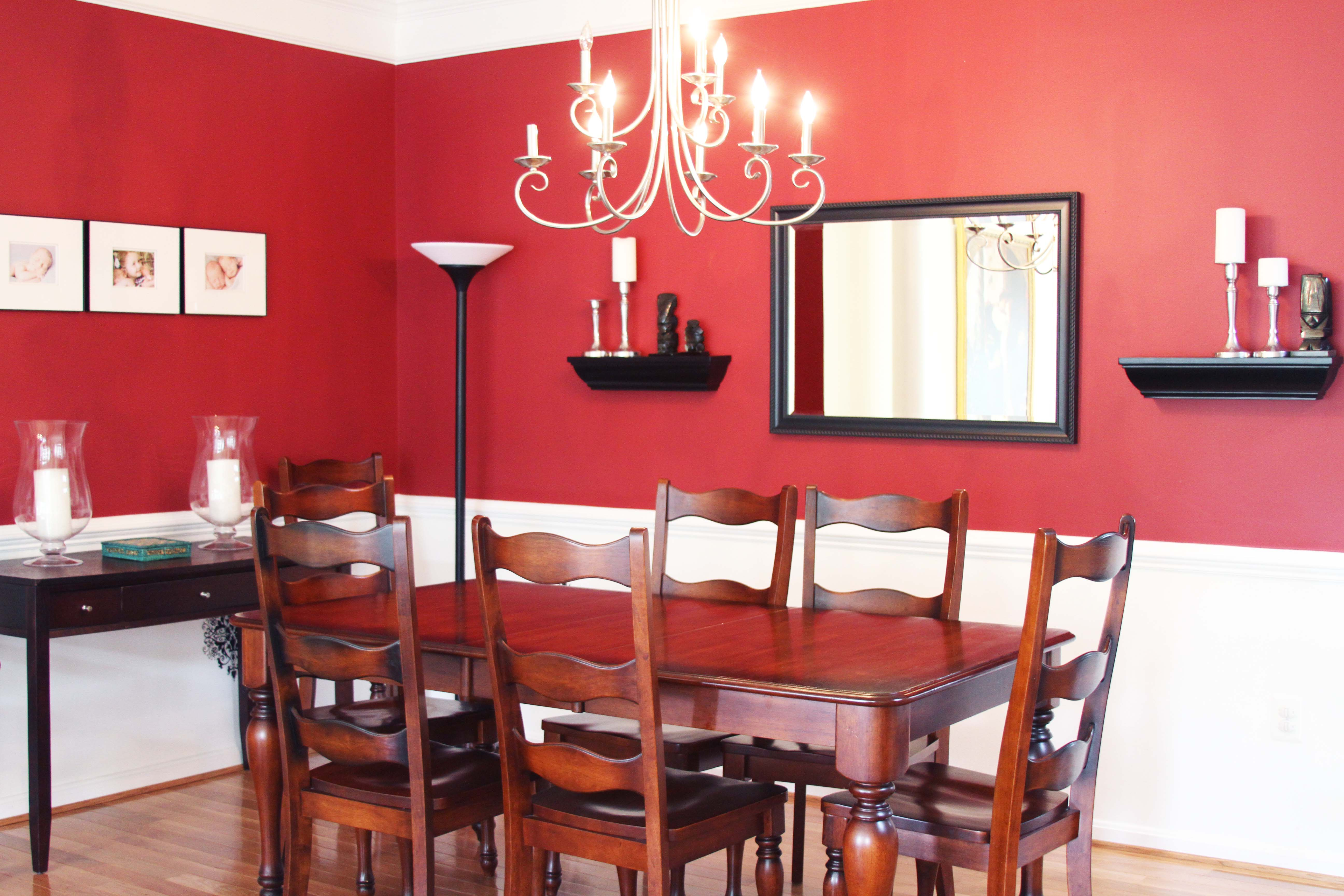 Red And White Dining Room Spectacular Colors For Your Dining Room Reliable Remodeler