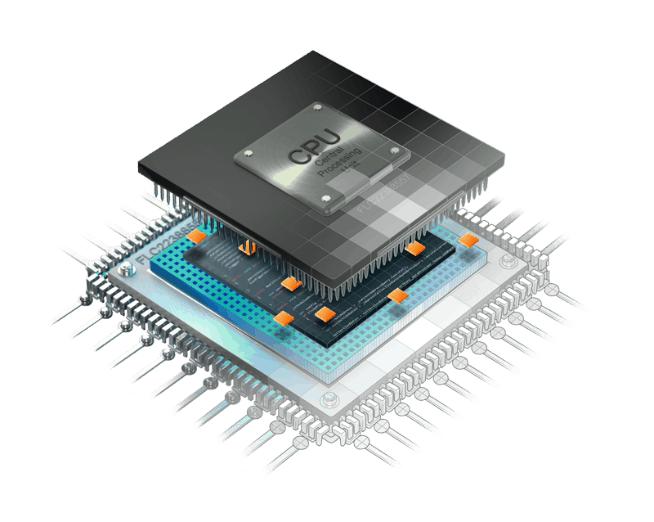 Graphic design of microcontroller