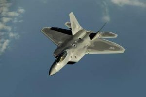 Twin engine Stealth f 22 raptor