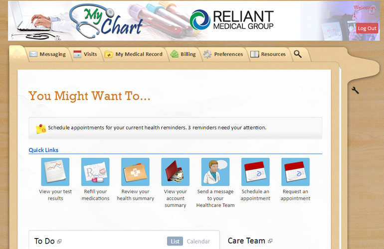 my chart reliant - Heartimpulsar