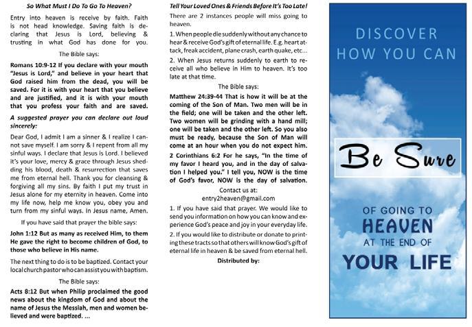 Christian Evangelism Printing - PDF