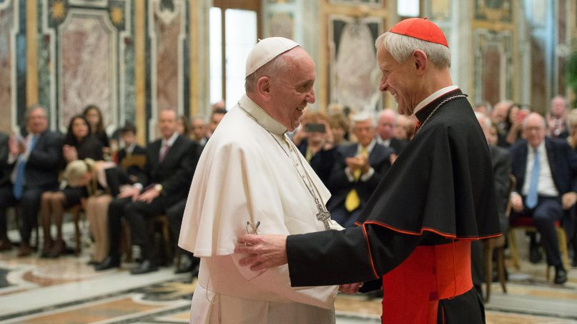Pressing pope to accept his resignation, Cardinal Wuerl does the