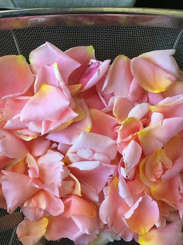 Rose petals!