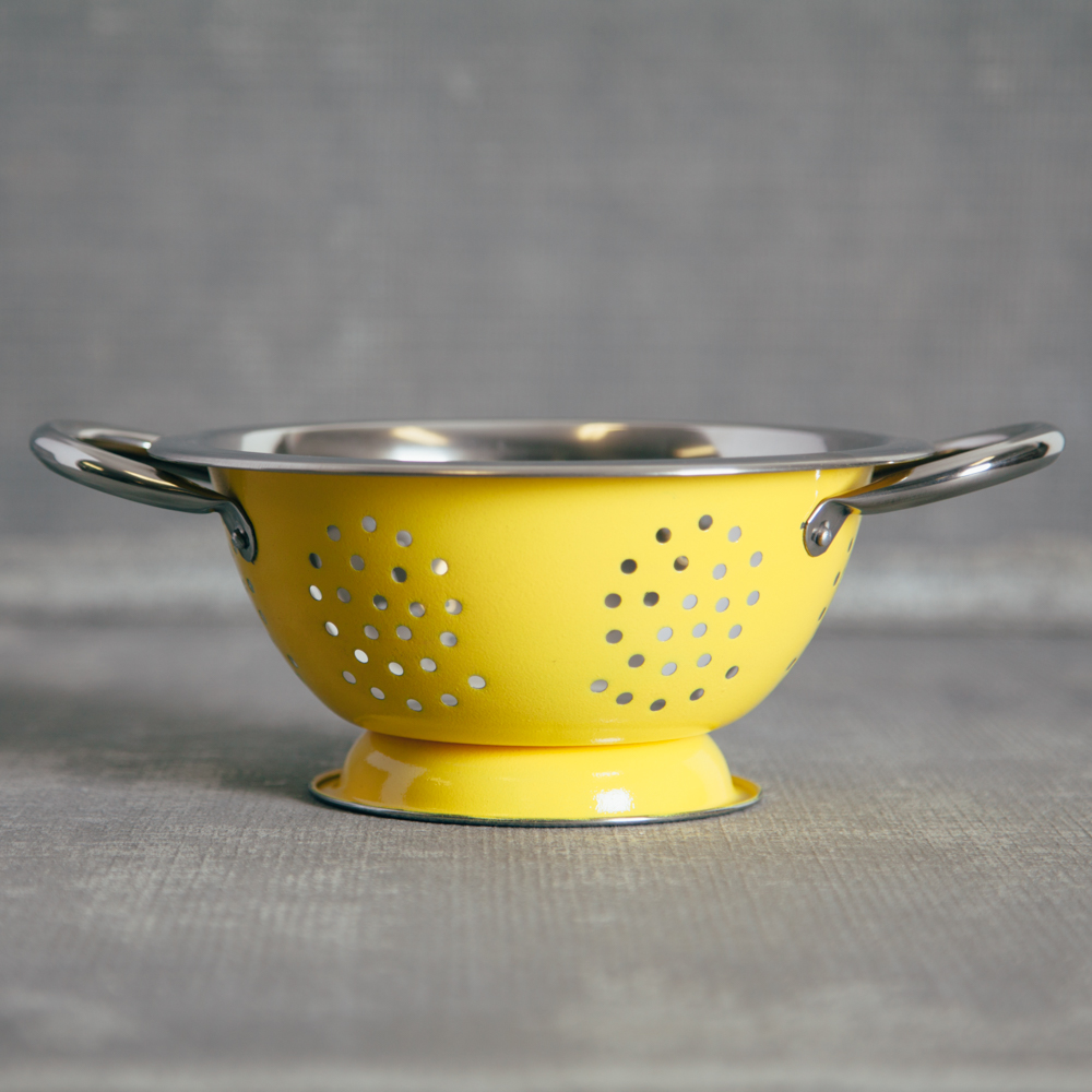 Durable Kitchen Table Top Pamela Bright Colander Small - Relish Decor