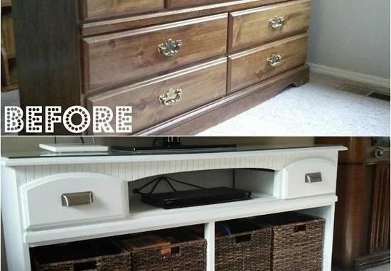 Lu0027image contient peut-être  écran et intérieur 17 - Avant Après - meuble en bois repeint