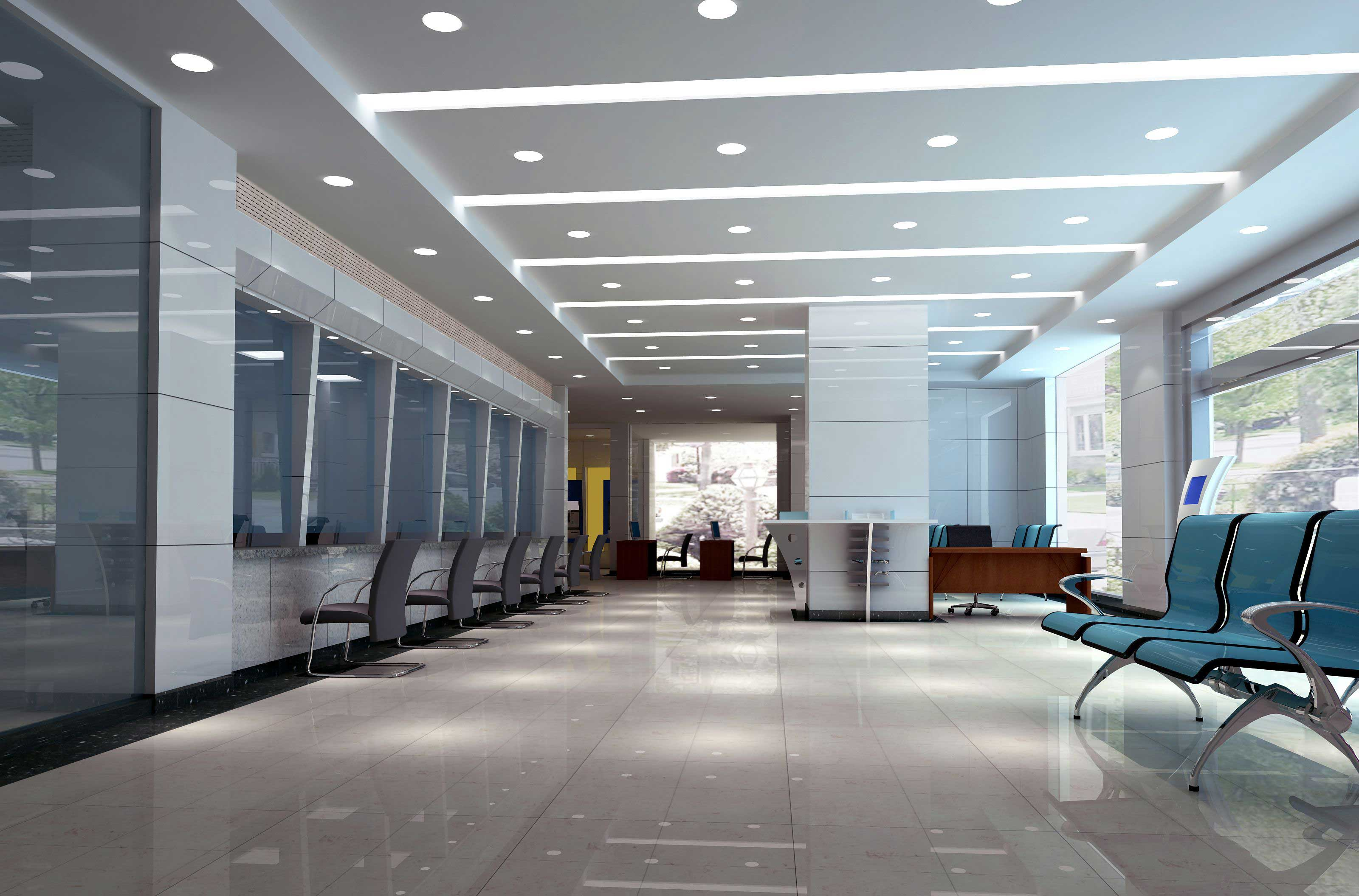 Office Lighting Reducing Your Carbon Footprint With Commercial Led