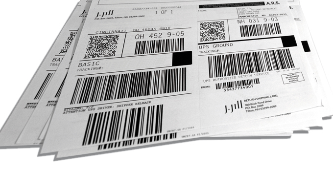 Integrated Labels - For Manufacturing, Shipping, Receiving  Logistics